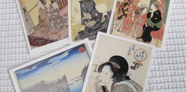 今回展示された所蔵作品のポストカード